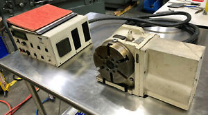 Yuasa 6 75 Sudx 170 Cnc Rotary Table With Indexer Controller Udnc 100