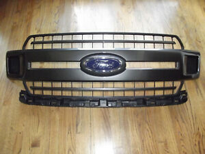 2018 2019 Ford F150 F 150 Oem Front Grille Grill Magnetic Gray