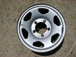 15 X 7 Ford Steel Wheel 5 On 5 1 2 Lug Pattern 4 1 4 Bs Oem Truck