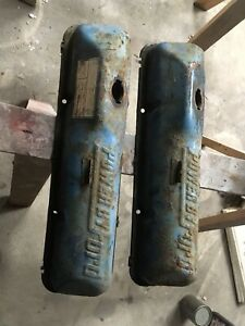Powered By Ford Fe 390 428 Valve Covers Galaxie F100 Fairlane Mustang