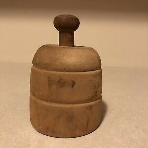 Primitive Vintage Butter Press