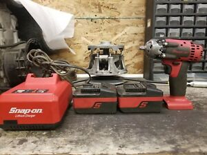 Snap On Ct8810 3 8 Impact Cordless Electric