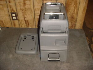 08 09 10 Town Country Grand Caravan Center Floor Console Med Gray Oem