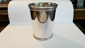 Sterling Silver Mint Julep Cup By Alvin Silversmiths