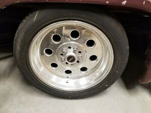 Super Rare 18 Weld Draglite Wheels With Michelin Tires