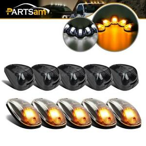 5x Clear Lens Led Cab Marker Light For Dodge 5x Top Roof Light For Ford Pickup