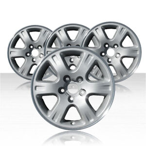 Revolve 16x6 5 Hypersilver Wheel For 2001 2007 Toyota Highlander Set Of 4