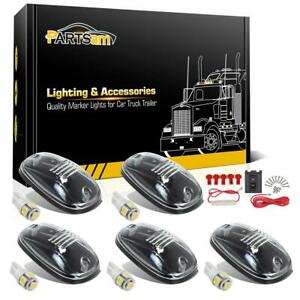 Set 5 Clear 822072ac Cab Marker Clearance Lamp White 2825 5 5050 Led wiring Pack