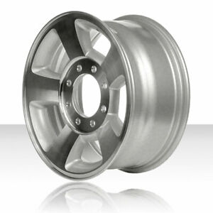 Revolve 17x8 Machined And Silver Wheel For 2003 2009 Dodge Ram 1500