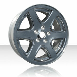 Revolve 17x7 Cladded Chrome Wheel For 2003 2004 Jeep Liberty