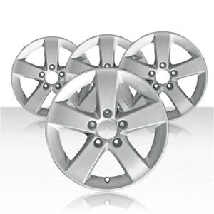Revolve 16x6 5 Silver Wheel For 2006 2010 Honda Civic Set Of 4