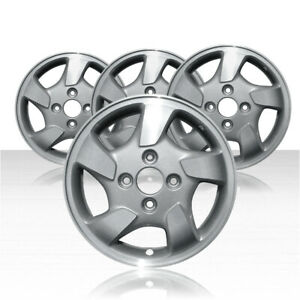 Revolve 15x6 Silver Wheel For 1998 2000 Honda Accord set Of 4
