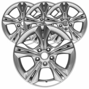 16 Sparkle Silver Metallic Rim By Jte For 2012 14 Ford Focus 16x7 Set Of 4