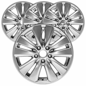 17 Silver Rim By Jte For 2011 2012 Honda Accord 17x7 5 Set Of 4