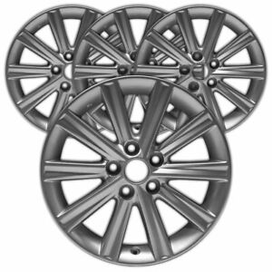 17 Silver 10 Spoke Rim By Jte For 2012 2014 Toyota Camry 17x7 Set Of 4
