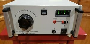 Global Specialties 1504 Isolated Variable Ac Line Supply