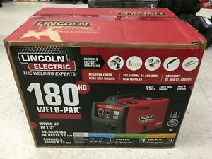 New Lincoln Electric 180 Hd Weld pak