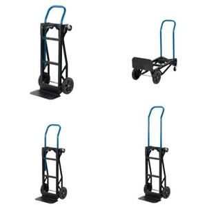 Harper Hand Truck Push Cart 400 Lb Capacity Convertible Moving Dolly Trolley