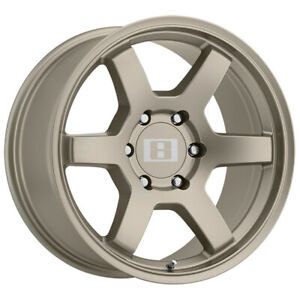 4 Level 8 Mk6 17x9 6x139 7 6x5 5 12mm Matte Bronze Wheels Rims