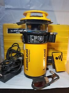 Spectra Physics Model 910 Sl Rotary Laser Level W Case Reciever Rod Clamp