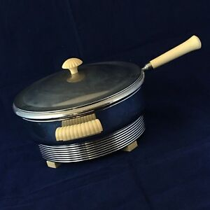 Chase Electric Table Chef Chrome And Bakelite Art Deco Kitchen Service Appliance