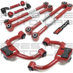 Truhart Front Negative Rear Camber Lateral Toe Arms Kit For Acura Tl 2004 08