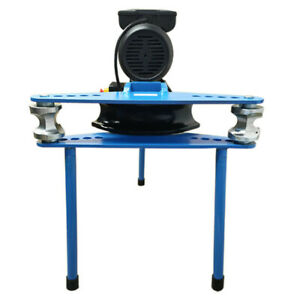 Electric 10 ton Hydraulic Pipe Tube Bender With Six Bending Dies 1 2 Inch 2 Inch