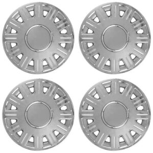 Set Of 4 New 98 08 Ford Crown Victoria 16 Hubcaps Full Rim Wheel Covers Hubs