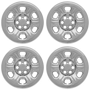 4 Chrome 16 Wheel Skins Hub Caps Rim Covers For 05 2019 Nissan Frontier Xterra