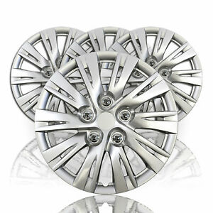 15 Set Of 4 Wheel Covers Snap On Hubcaps Full Hub Caps Fit R15 Tire