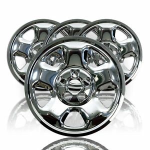 17 Wheel Covers Rim Skins Hub Caps Chrome For 2006 15 Honda Ridgeline Pilot