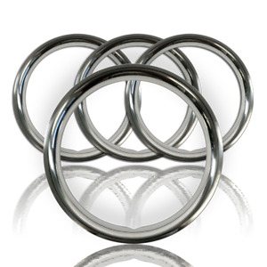 Setof4 16 Stainless Steel Wheel Trim Rings Beauty Rims Glamour Ring Rim Band Fo