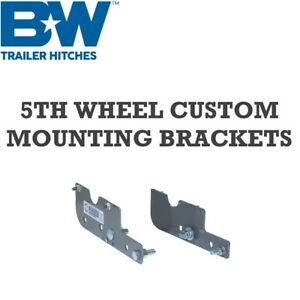 Rvr2600 B W 5th Wheel Hitch Custom Mounting Brackets Dodge Ram 2500 3500