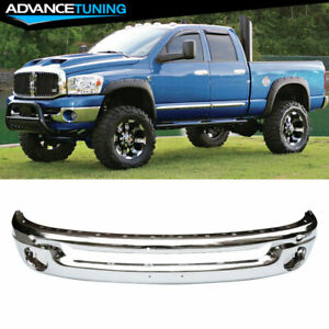 Fits 02 09 Dodge Ram 1500 2500 Front Bumper Face Bar Chrome