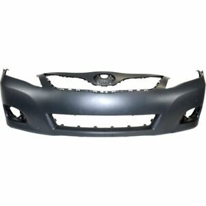 Bumper Cover For 2010 2011 Toyota Camry Hybrid Usa Built Front Paint To Match