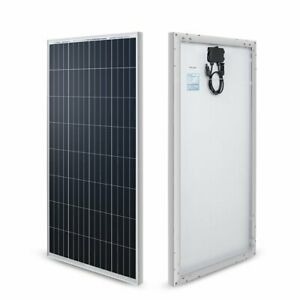 100 watt 12 volt Monocrystalline Solar Panel new Edition For Rv Boat Back up
