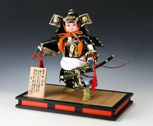 Beautiful Vintage Japanese Samurai Doll The Little General Modern Style