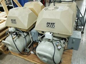 Jun air 2000 Oil less Air Compressor 4000 150p