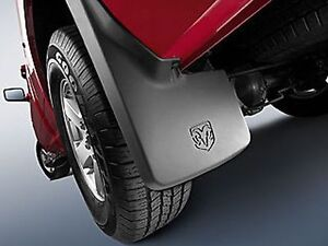 Dodge Ram 1500 2500 2011 2015 Rear Molded Splash Guards Mud Flaps Mopar