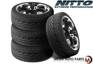 4 New Nitto Nt geo Neogen 215 45zr17 91w All Season Ultra Performance Tires