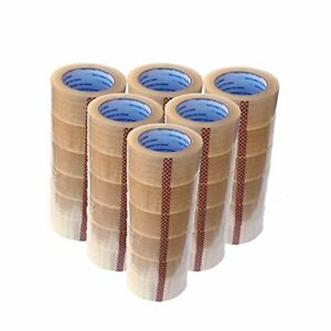 Carton Sealing Tape Rolls Quality Packaging 2 Mil Packing Moving Box 2 x110 Yard