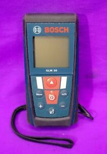 Bosch Glm 50 Professional Laser Rangefinder 50m 164ft Accurate Measurement