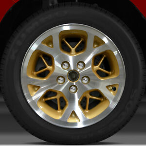 16x7 Factory Wheel sparkle Gold Machined For 1996 1998 Jeep Grand Cherokee