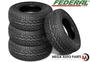 4 Federal Couragia A T P255 70r16 Owl All Terrain Off Road Performance Tires