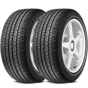 2 New Goodyear Eagle Rsa P205 55r16 89h All Weather High Performance Tires