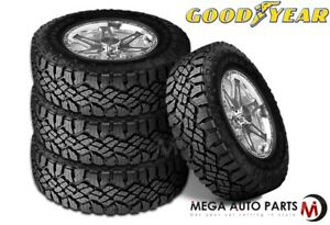 4 New Goodyear Wrangler Duratrac 255 70r16 111s M s All Terrain Tires