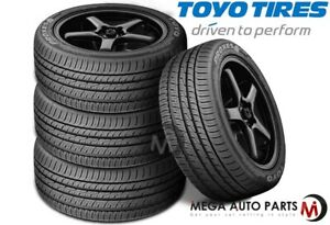 4 New Toyo Proxes 4 Plus 205 40r17 84w Ultra High Performance All Season Tires