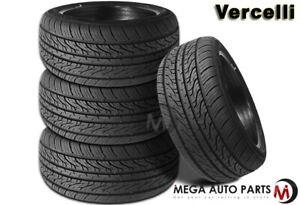 4 New Vercelli Strada Ii 245 45r18 100w Xl All Season Performance Tires