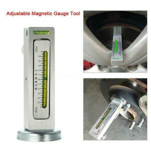 Magnetic Gauge Tool For Car Truck Camber Castor Strut Wheel Alignment Auto Tools