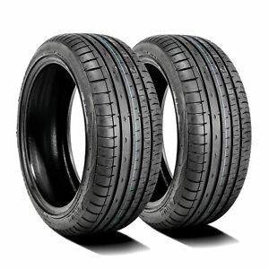 2 New Accelera Phi r 205 55r15 88v A s Performance Tires